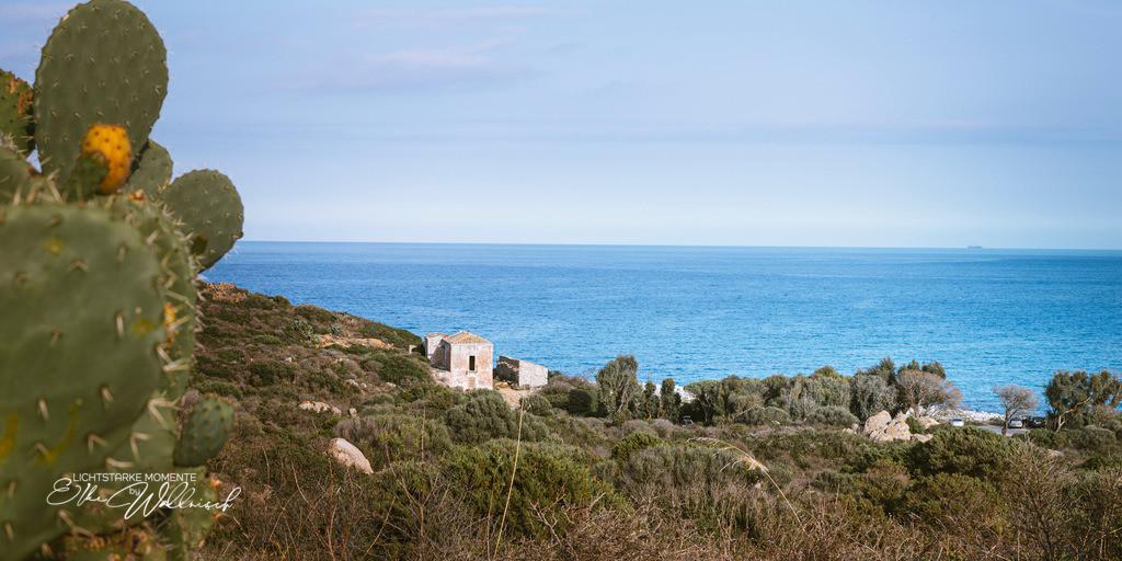 Haus mit Aussicht | am Ende der Via Capo Carbonara, Villasimius