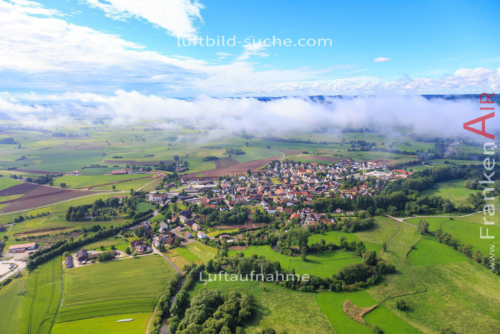 burghaig-kulmbach-2016-2170 | Luftbild von Burghaig Kulmbach - Luftaufnahme wurde 2016 von https://frankenair.de mittels Flugzeug (keine Drohne) erstellt - die Geschenkidee
