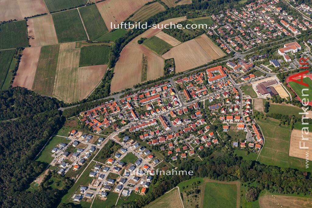 neustadt-aisch-19-312 | aktuelles Luftbild von Baugebiet  Neustadt-aisch - Luftaufnahme wurde 2019 von https://frankenair.de mittels Flugzeug (keine Drohne) erstellt.