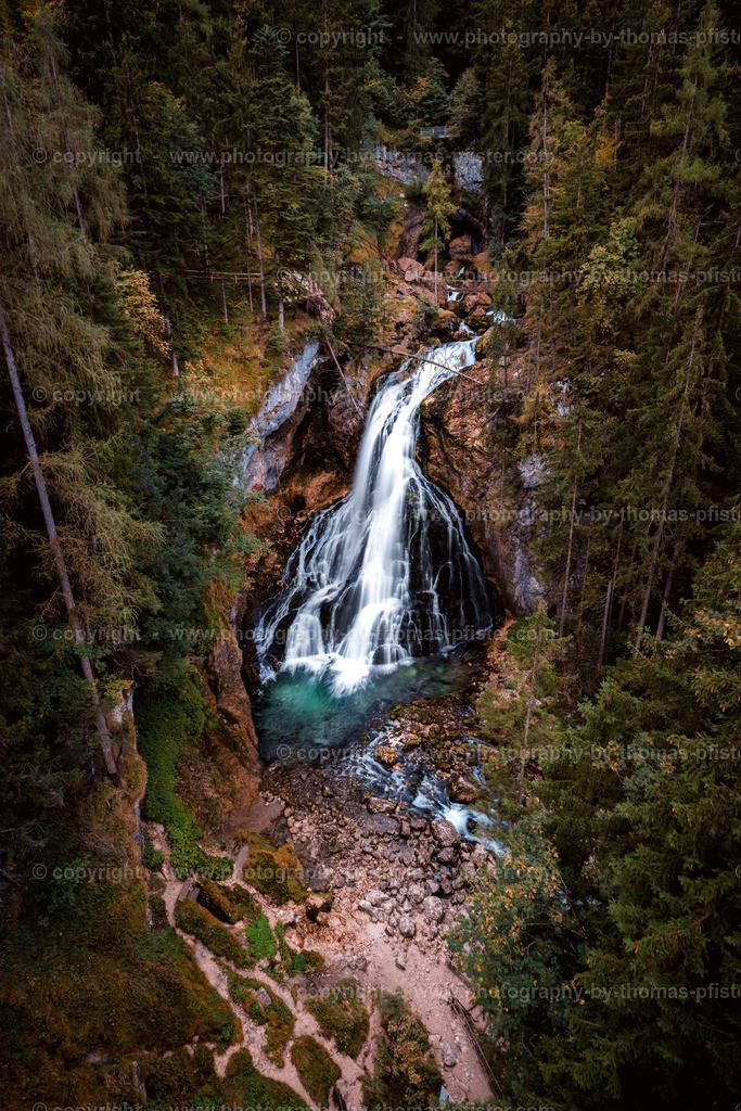 Gollinger Wasserfall im Herbst-1