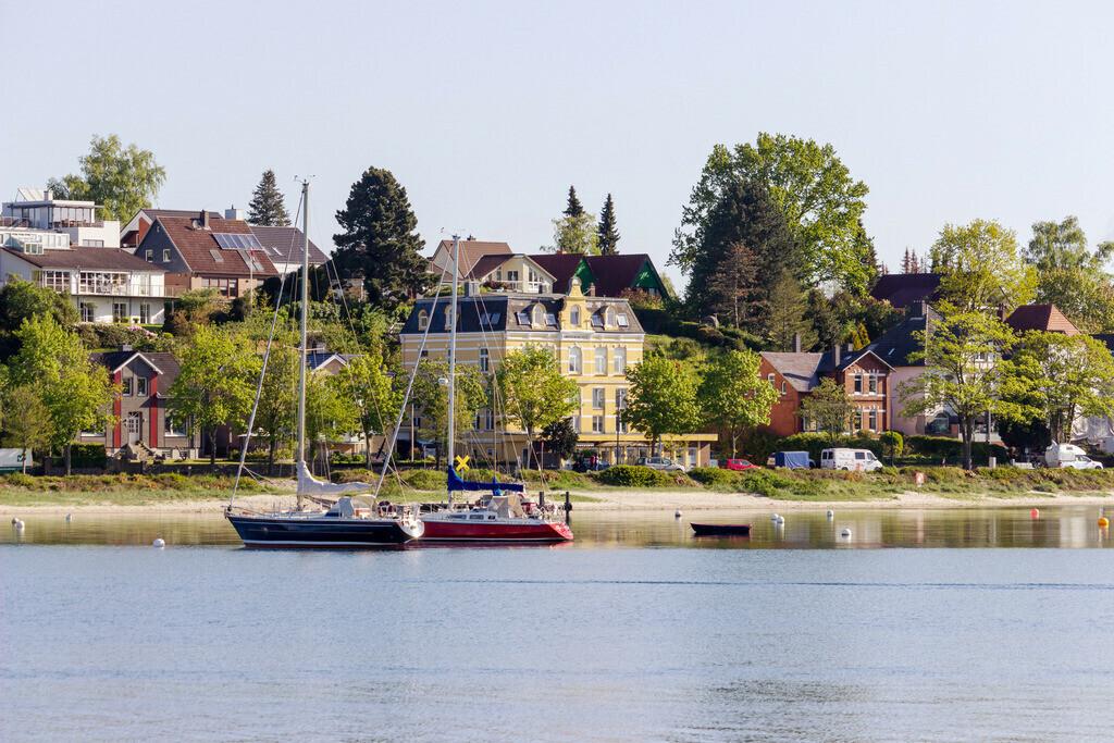 Hafen in Eckernförde | Frühling am Hafen in Eckernförde