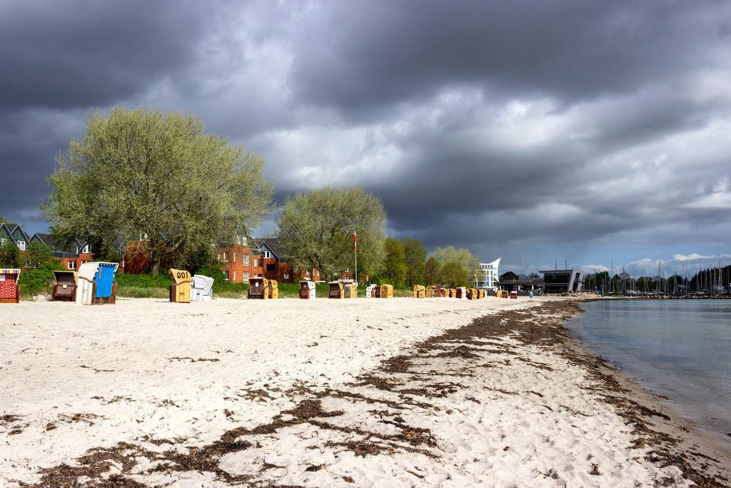 Strand in Eckernföre | Frühling am Strand in Eckernförde
