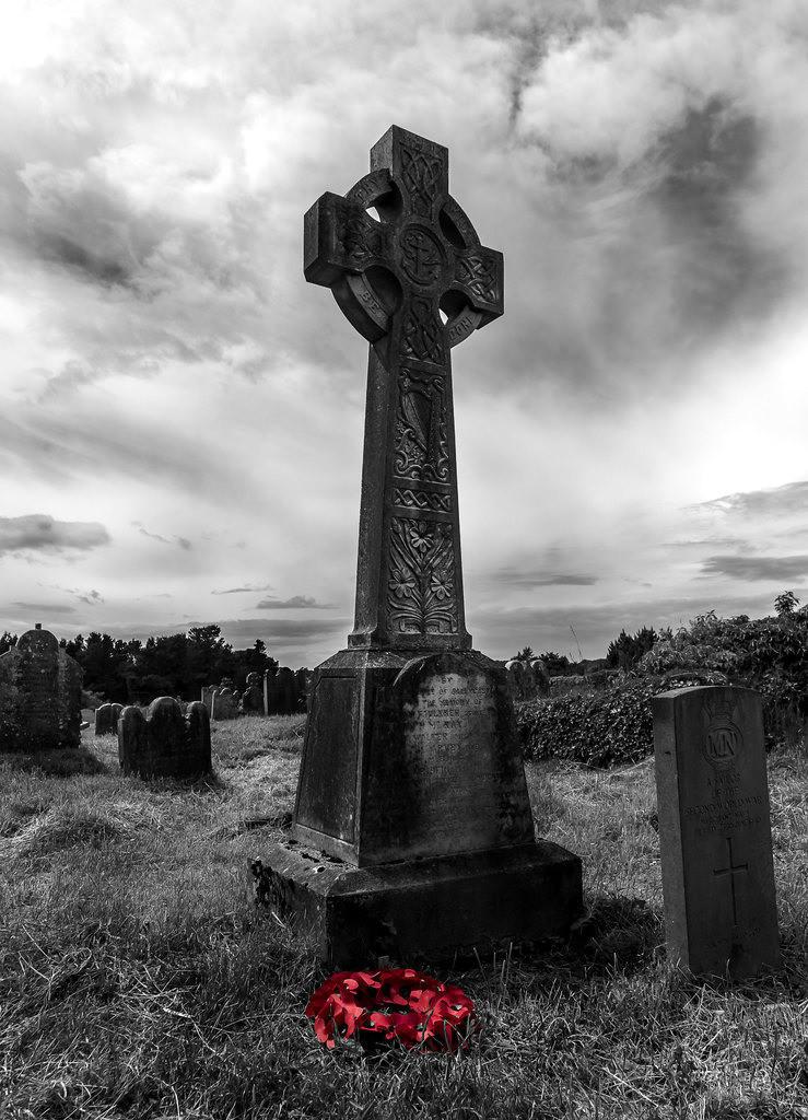 Nordirland |  Friedhof in Nordirland die immer grüne Insel