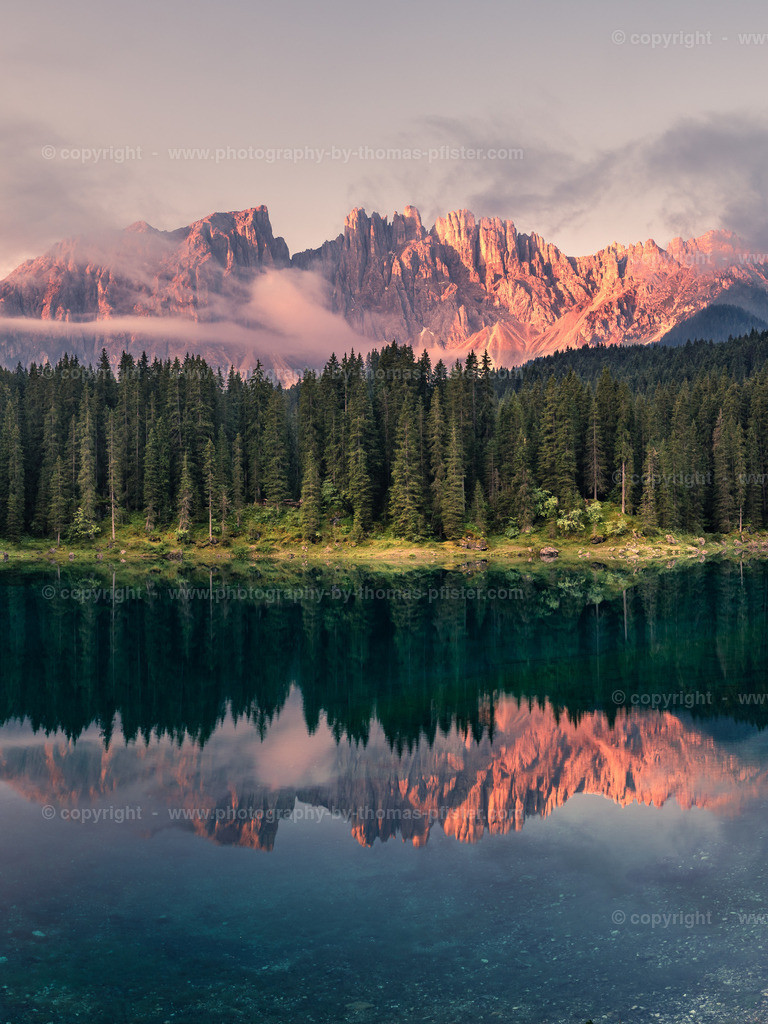 Karrersee Dolomiten Südtirol-3