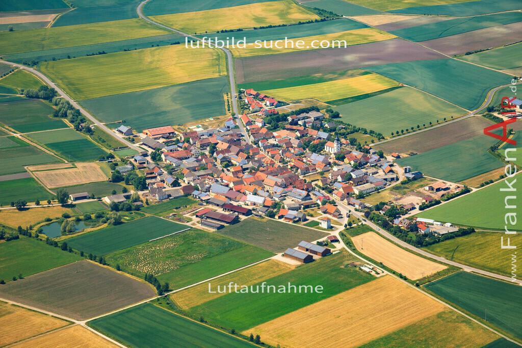 krautostheim-sugenheim-2015-4686 | Luftbild von Krautostheim Sugenheim - Luftaufnahme wurde 2015 von https://frankenair.de mittels Flugzeug (keine Drohne) erstellt - die Geschenkidee