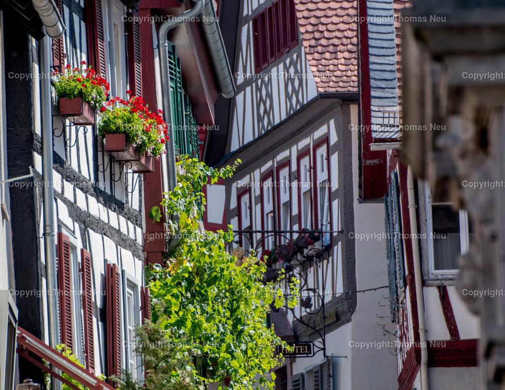 DSC_0574 | Fachwerk in der malerischen Altstadt von Heppenheim,