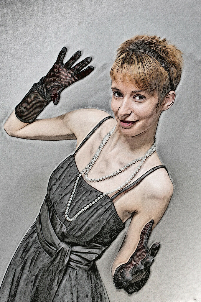 Handschuh Lady Bild 041