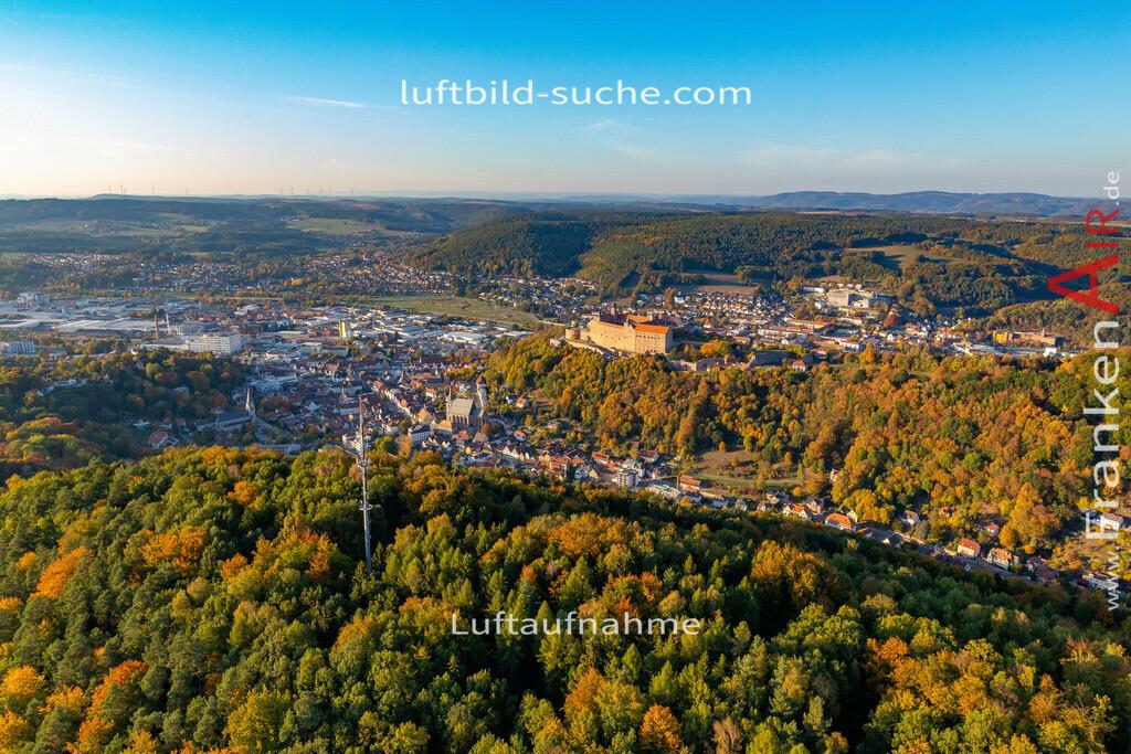 altstadt-kulmbach-18-390   aktuelles Luftbild von Altstadt Kulmbach - Luftaufnahme wurde 2018 von https://frankenair.de mittels Flugzeug (keine Drohne) erstellt.