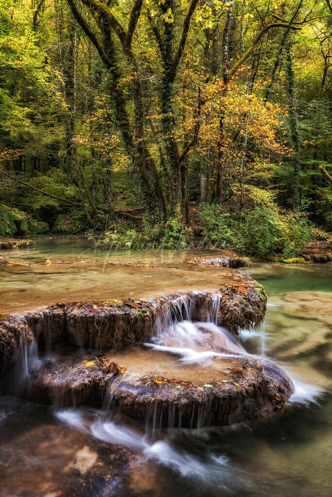 Stufen aus Wasser
