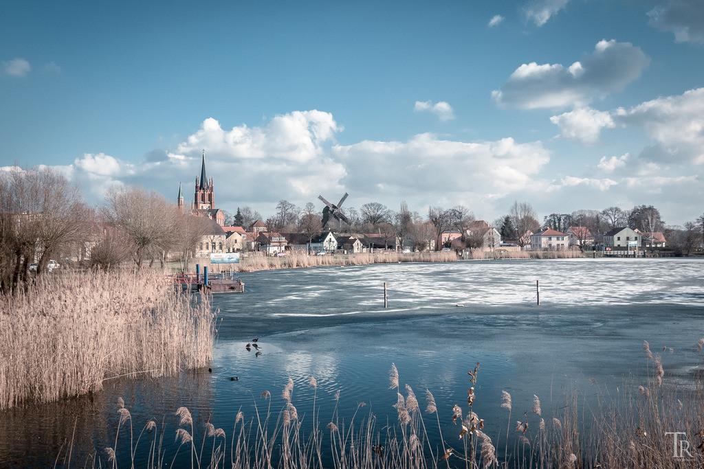Eisiges Werder (Havel)