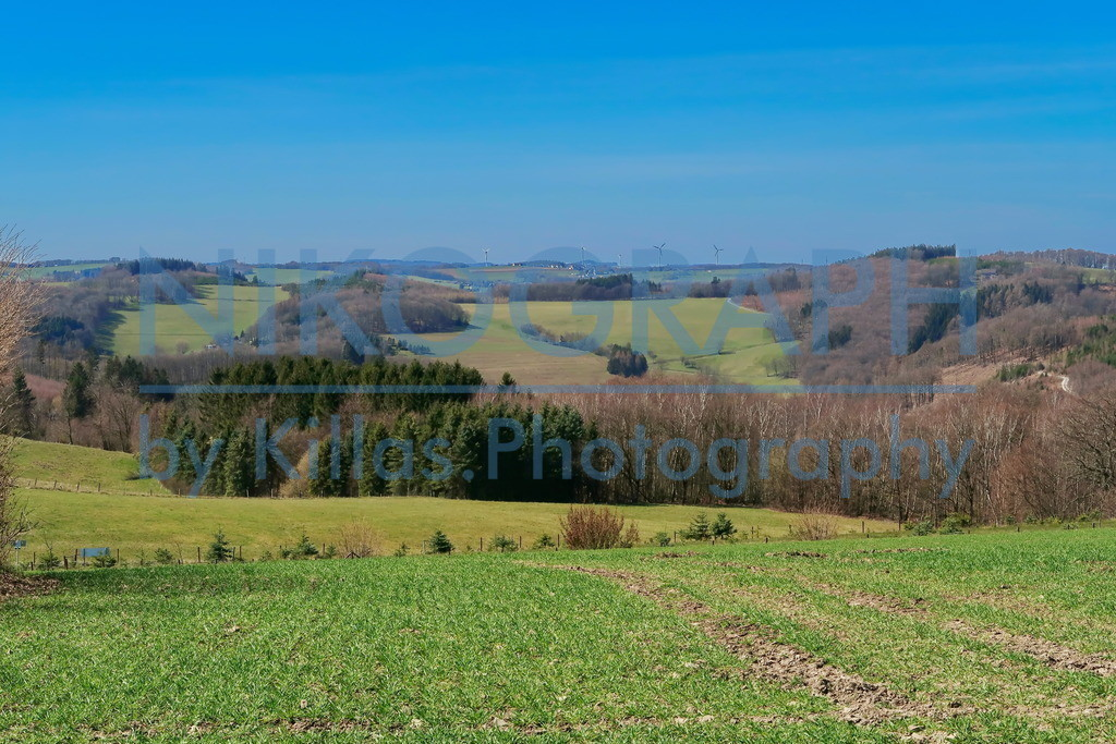 Panoramablick über Felder | Panoramablick über die Felder von Kesbern, einem Stadtteil von Iserlohn.  Kesbern liegt im Norden Iserlohns und gehörte bis 1974 zum Amt Hemer.