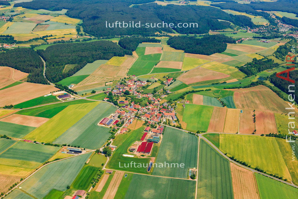 rossbach-baudenbach-2015-63 | Luftbild von Roßbach Baudenbach - Luftaufnahme wurde 2015 von https://frankenair.de mittels Flugzeug (keine Drohne) erstellt - die Geschenkidee