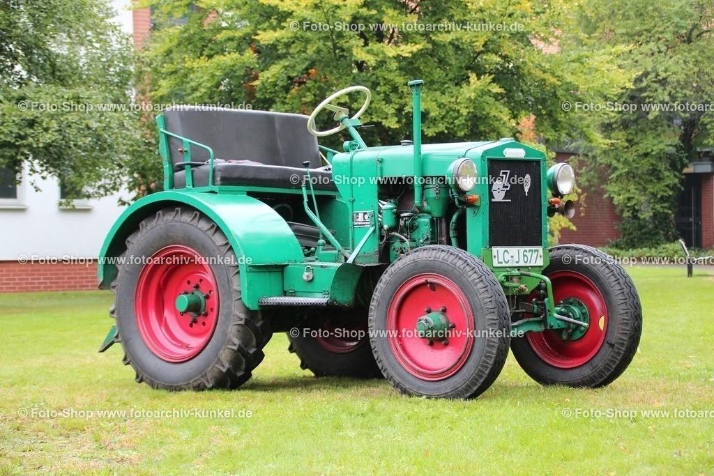 Zettelmeyer Z 1 Ackerschlepper, Traktor, Schlepper, 1940 | Zettelmeyer Z 1 Ackerschlepper, Traktor, Schlepper, Grün, Baujahr 1940, Motor: Deutz F 2 M 414, Leistung 22 PS, BRD, Deutschland