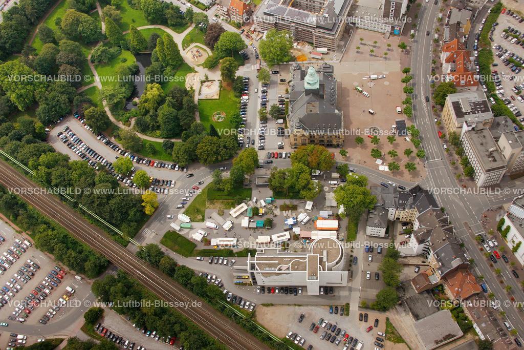 RE11070398 | Wochenmarkt am Samstag, Dr.-Helene-Kuhlmann-Parks in Recklinghausen, zwischen Augenklinik und Rathaus,  Recklinghausen, Ruhrgebiet, Nordrhein-Westfalen, Germany, Europa