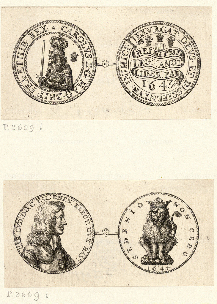 Wenceslas_Hollar_-_Two_medals_showing_Lesser_George