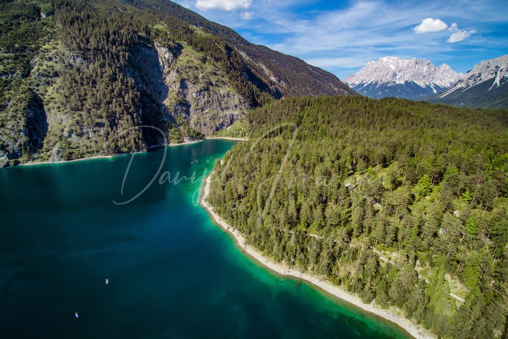 Blindsee | Der Blindsee mit der Zugspitze im Hintergrund