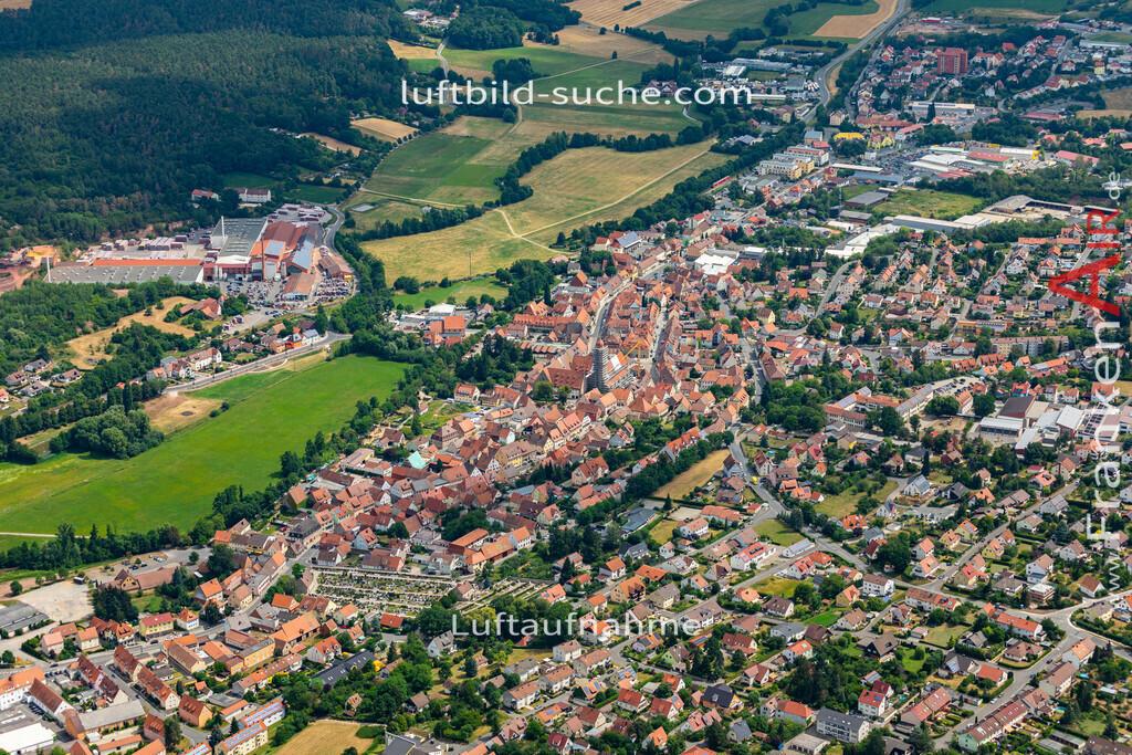 langenzenn-19-163   aktuelles Luftbild von  Langenzenn - Luftaufnahme wurde 2019 von https://frankenair.de mittels Flugzeug (keine Drohne) erstellt.