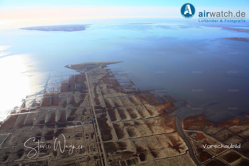 Hamburger Hallig - sieht einfach gut aus... | Nordsee, Hamburger Hallig, Luftbild, Luftaufnahme, aerophoto, Luftbildfotografie, Luftbilder 4272 x 2848 pix
