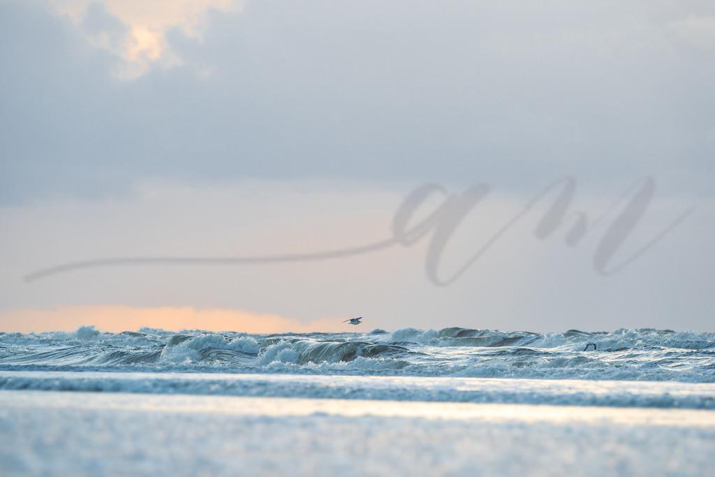 Lichtstimmung an der Nordsee | Zartes Licht am Strand von St. Peter-Ording