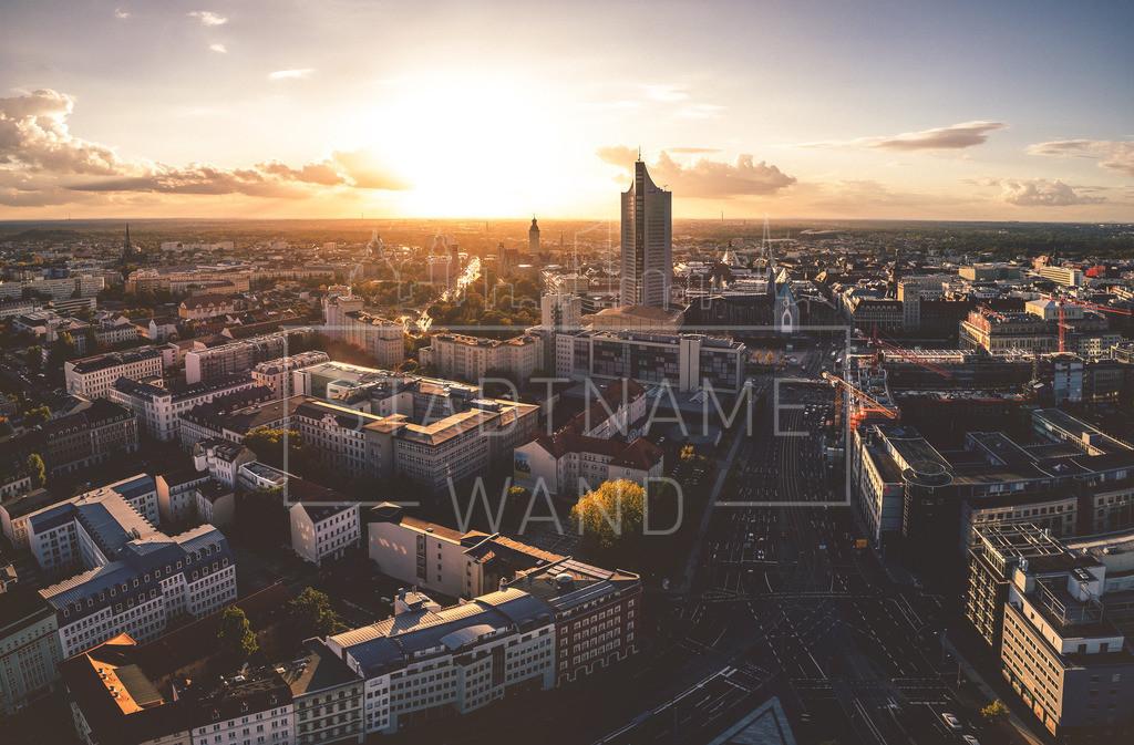 Leipzig Big City | Im Sonnenaufgang und Sonnenuntergang gibt uns Leipzig mit seiner fantastischen Silhouette immer wieder die schönsten Motive.
