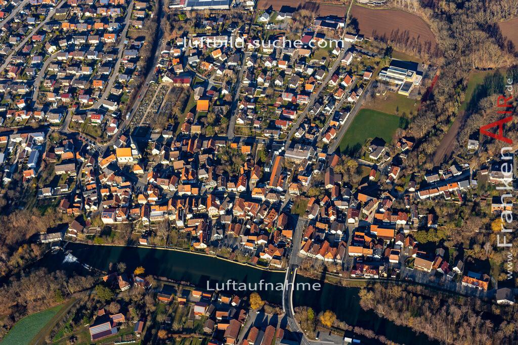 marktzeuln-19-39 | aktuelles Luftbild von  Marktzeuln - Luftaufnahme wurde 2019 von https://frankenair.de mittels Flugzeug (keine Drohne) erstellt.