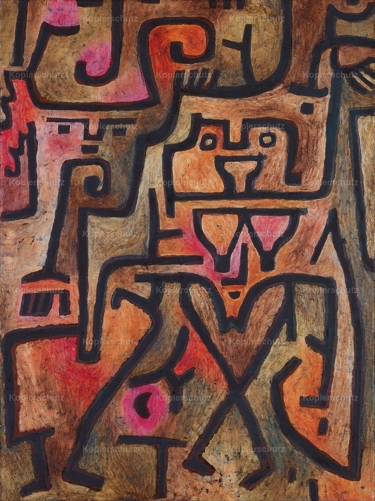 Klee_ Paul (1879-1940) - Forest Witches 1938