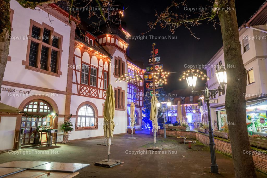 DSC_4248 | ble,Lorsch, blaues Weihnachtswunder, Innenstadt, ,, Bild: Thomas Neu