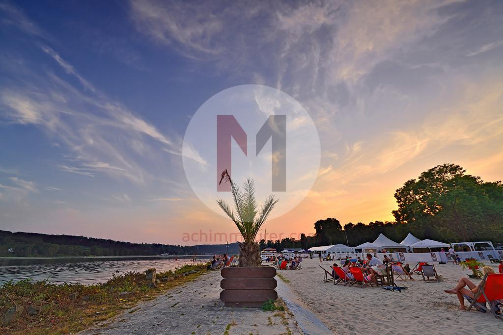 Seaside Beach Baldeney in Essen im Ruhrgebiet