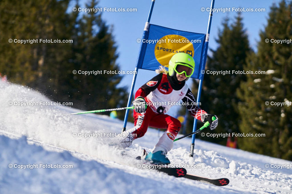 0092_KinderLM-RTL-I_Trattenbach_Krempl Sara | (C) FotoLois.com, Alois Spandl, NÖ Landesmeisterschaft KINDER in Trattenbach am Feistritzsattel Skilift Dissauer, Sa 15. Februar 2020.