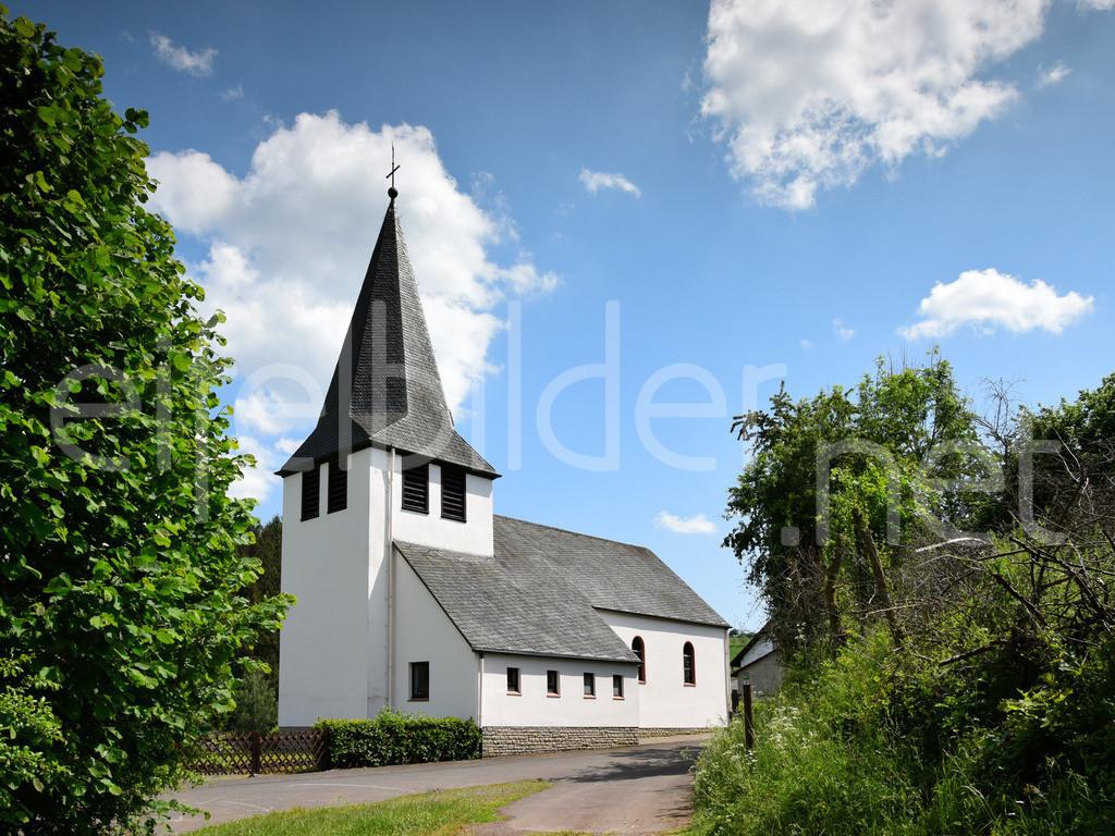 Trittscheid, Vulkaneifel | Kirche in Trittscheid. Eifel, Vulkaneifel