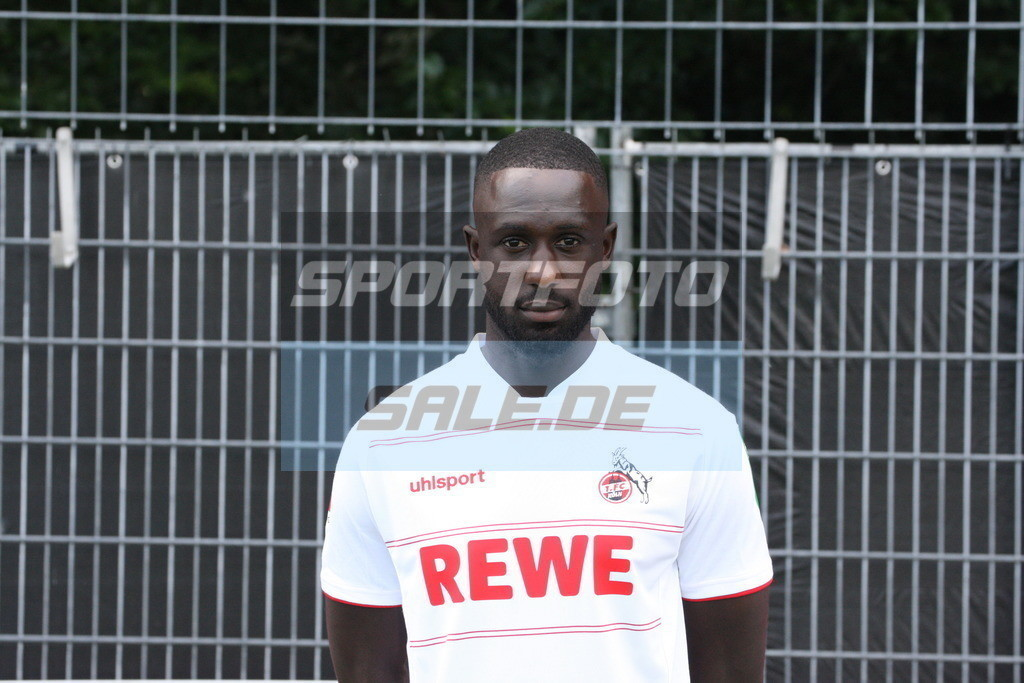 1. FC Köln Fotoshooting   Kingsley Schindler - © Sportfoto-Sale (MK)