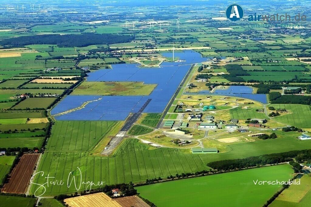 Solarpark Eggebek in Schleswig-Holstein | Solarpark Eggebek, ehemals Flughafen Eggebek - GPC Gewerbepark Carstensen GmbH