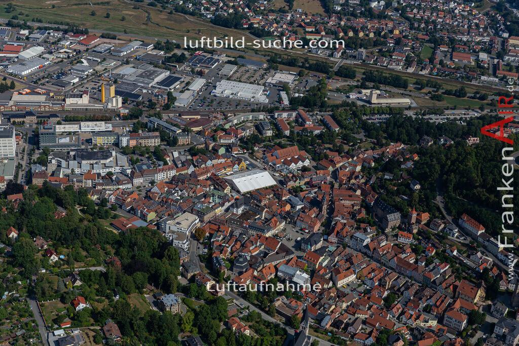 bierfest-2019-kulmbach-19-676   aktuelles Luftbild von Bierfest-2019  Kulmbach - Luftaufnahme wurde 2019 von https://frankenair.de mittels Flugzeug (keine Drohne) erstellt.