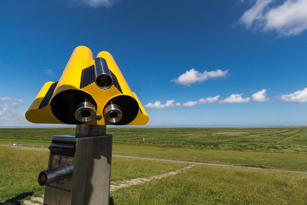 Ausblick an der Nordsee
