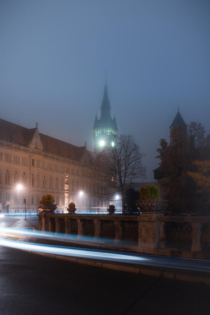 Geisterstunde am Rathaus