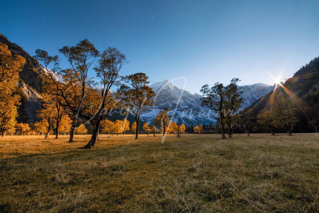 Großer Ahornboden | Herbst am Großen Ahornboden im Karwendel