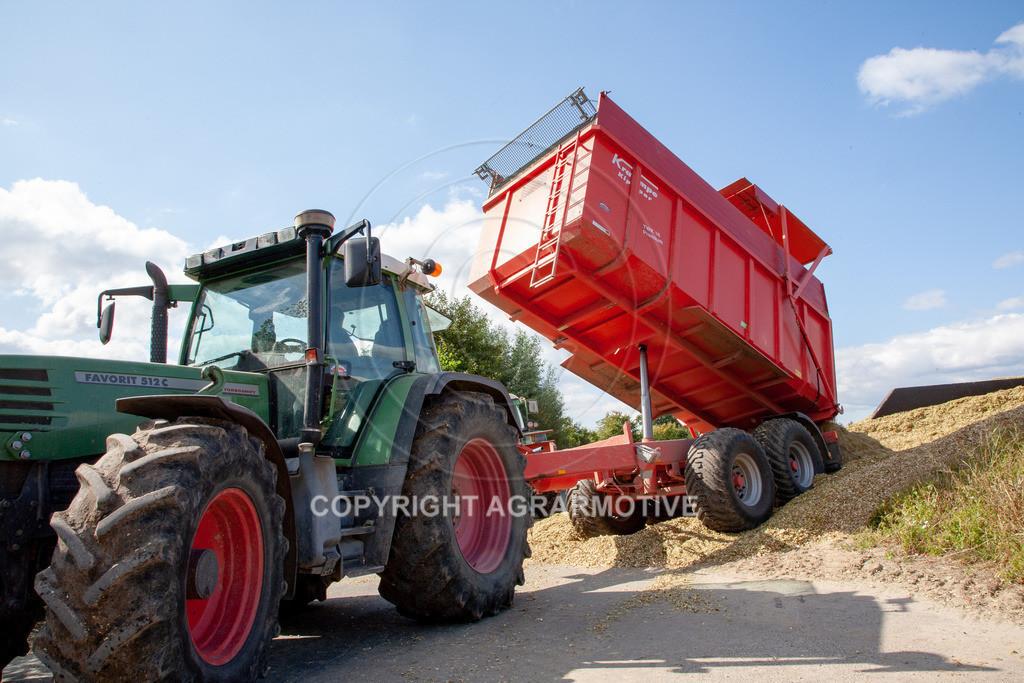 20080914-IMG_9099 | Silomais wird gehäckselt - AGRARFOTO Bilder aus der Landwirtschaft