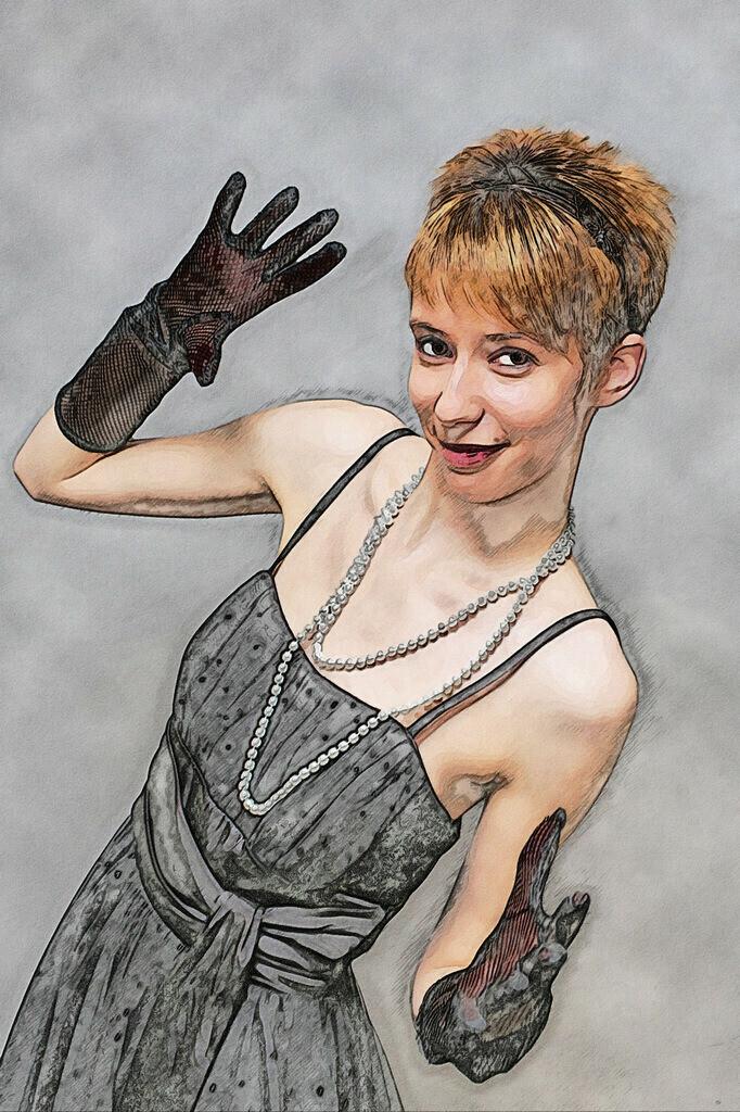 Handschuh Lady Bild 038