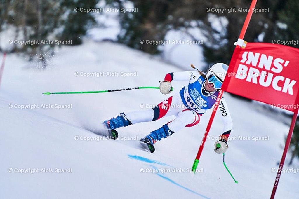 ALS5887_WWMG_GS-II_C | (C) FotoLois.com, Alois Spandl, WinterWorldMastersGames 2020 Innsbruck, Giant Slalom-II Gruppe C Damen, Patscherkofel Olympiaabfahrt, Mi 15. Jänner 2020.