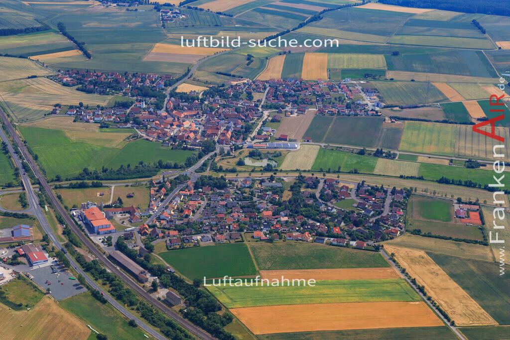 luftbild-langenfeld-17-1156 | Luftbild von  Langenfeld - Luftaufnahme wurde 2017 von https://frankenair.de mittels Flugzeug (keine Drohne) erstellt - die Geschenkidee