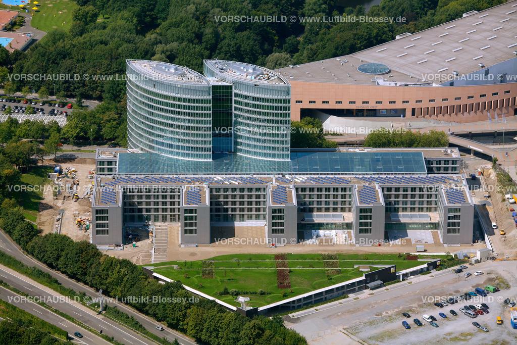 ES10080290 | EON Ruhrgas neue Konzernzentrale,  Essen, Ruhrgebiet, Nordrhein-Westfalen, Germany, Europa, Foto: hans@blossey.eu, 14.08.2010