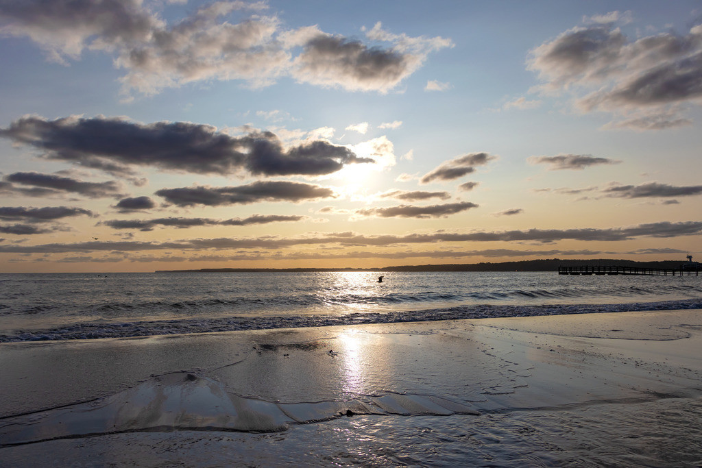 Sommer an der Ostsee   Sonnenaufgang an der Ostsee