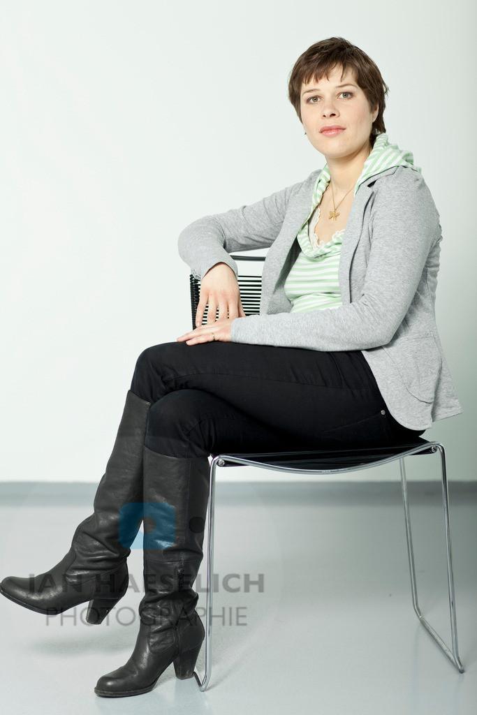 Meike Droste | Fototermin in Hamburg am 31.03.2010 zur ARD Fernsehserie