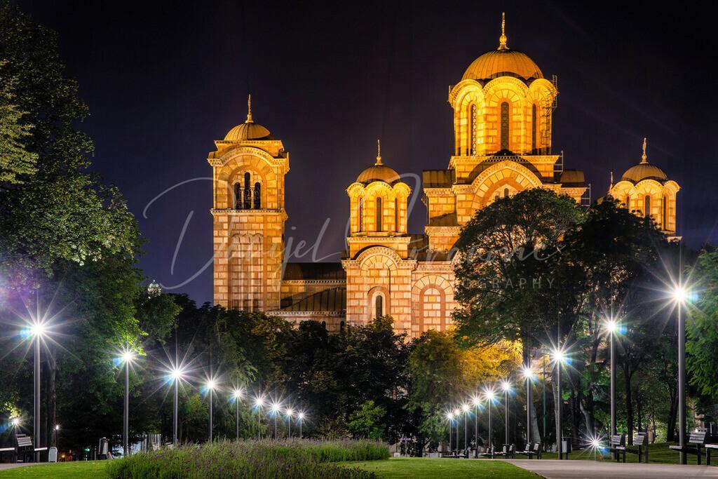 Sveti Marko | Die Kirche Sveti Marko im Tasmajdan Park