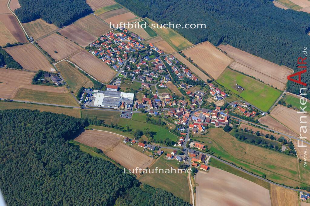 frimmersdorf--2016-2886 | Luftbild von Frimmersdorf Vestenbergsgreuth - Luftaufnahme wurde 2016 von https://frankenair.de mittels Flugzeug (keine Drohne) erstellt - die Geschenkidee