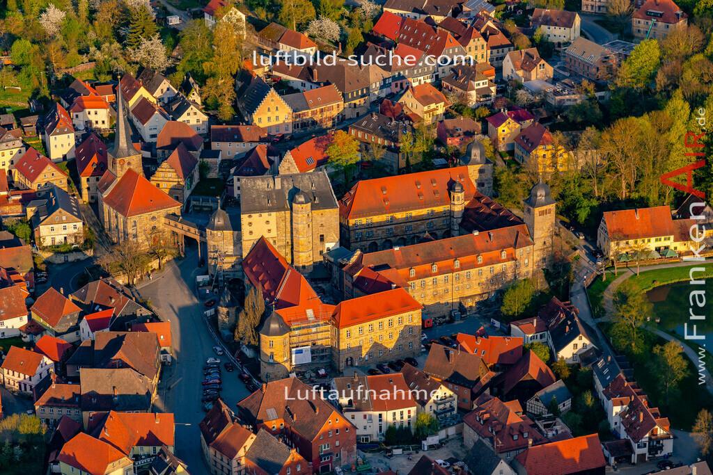 schloss-thurnau-18-210 | aktuelles Luftbild von Schloss Thurnau - Luftaufnahme wurde 2018 von https://frankenair.de mittels Flugzeug (keine Drohne) erstellt.