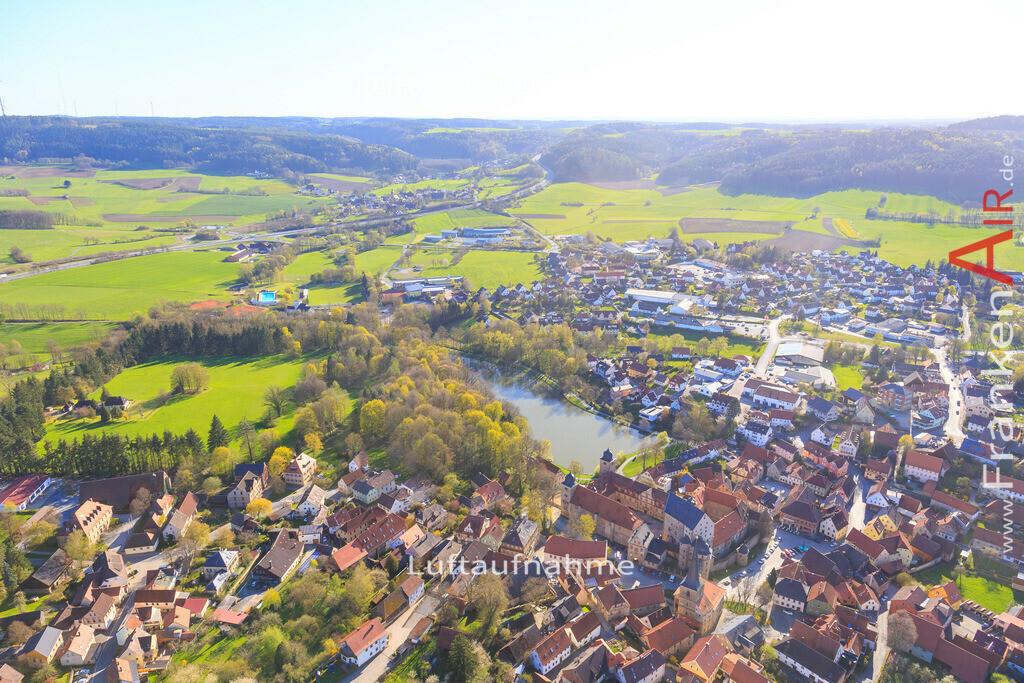 thurnau-2016-3259 | Luftbild von  Thurnau - Luftaufnahme wurde 2016 von https://frankenair.de mittels Flugzeug (keine Drohne) erstellt - die Geschenkidee
