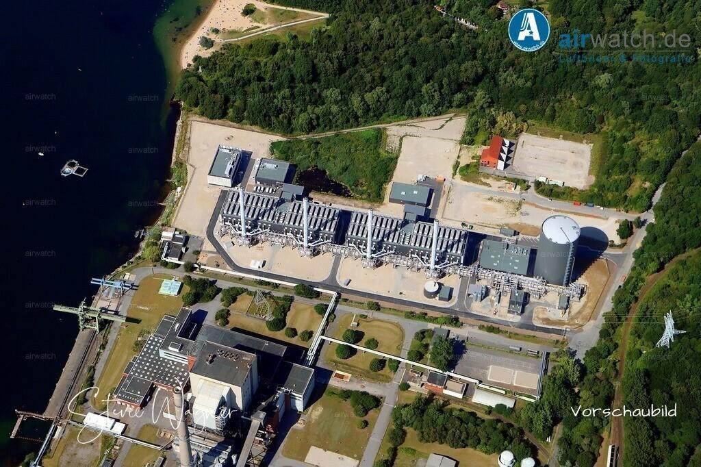Kiel, Kieler-Förde, Küstenkraftwerk   Kiel, Kieler-Förde, Küstenkraftwerk