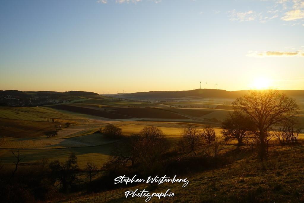 Sunset Eisvogel Winnweiler | Sonnenaufgang am Eisvogel Winnweiler mit Blick auf Imsbach