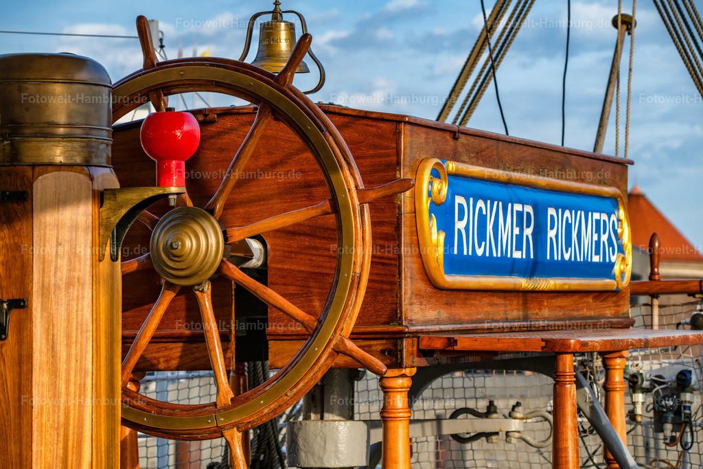 10210601 - Steuerrad der Rickmers | Detailaufnahme von der Rickmer Rickmers, veröffentlicht mit freundlicher Genehmigung vom Team der Rickmers.